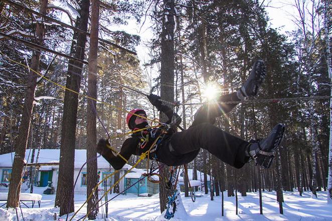 Чемпионат СФО по спортивному туризму, лыжнеая дистанция