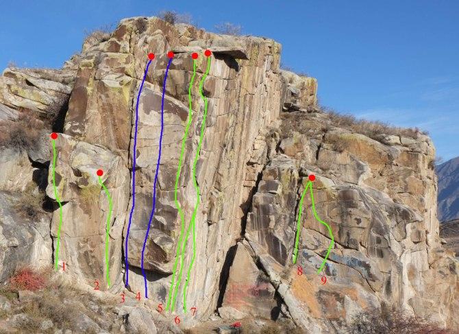 Горный Алтай скалы