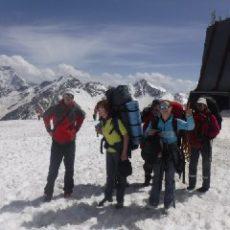 Восхождение на Эльбрус с юга. Альпклуб Вертикаль